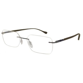 Persol Mens PO2429V Rectangular Reading Glasses