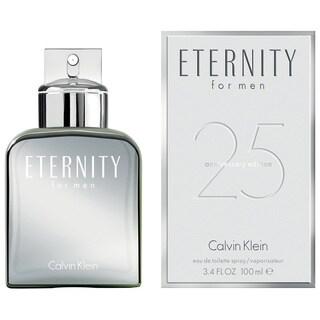 Calvin Klein Eternity 3.4-ounce Men's Eau de Toilette Spray (25th Anniversary Edition)