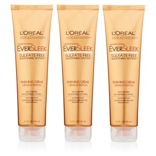 L'oreal Eversleek Sulfate-Free Smoothing System 5.1-ounce Finishing Creme (Pack of 3)