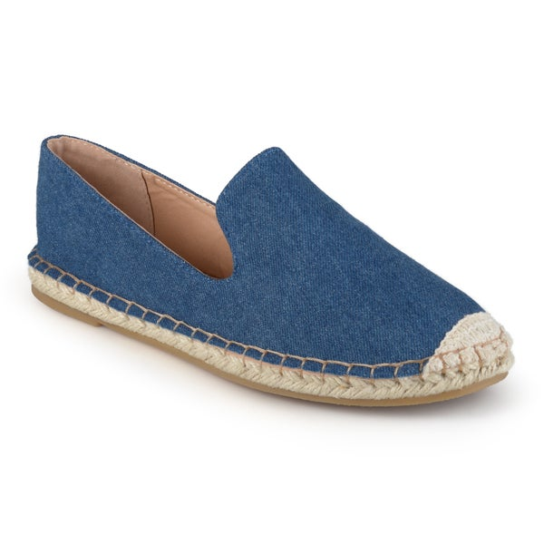 Journee Collection Women's 'Asher' Rope Toe Slip-on Espadrilles