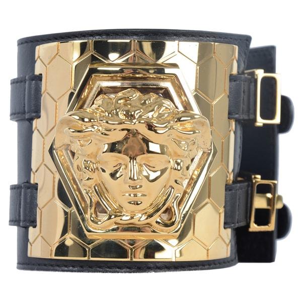Versace Men's Medusa Honeycomb Bracelet