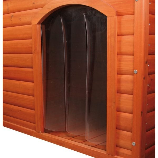 Plastic 3-panel Dog Door