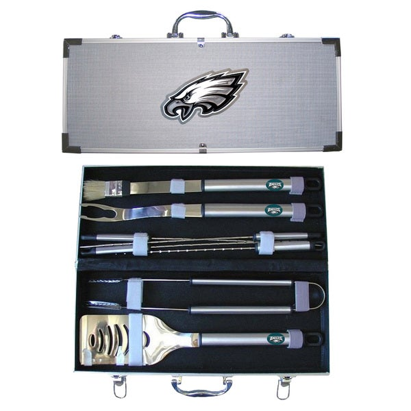 Philadelphia Eagles 8-Piece Stainless Barbecue Set