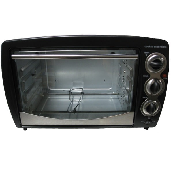 Cook's Essentials Toaster Convection Oven with Warmer and Rotisseri 15792419