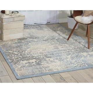 Nourison Graphic Illusions Sky Rug (7'9 x 10'10)