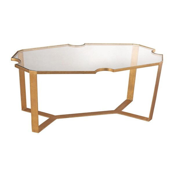 LS Dimond Home Cutout Top Martini Table