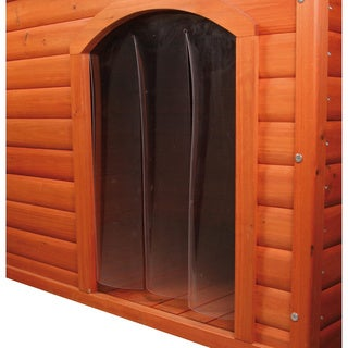 TRIXIE Plastic Door for Flat Roof Dog House