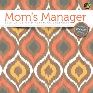 'Mom's Manager' Aug 2015 - Dec 2016 17 Month Wall Calendar