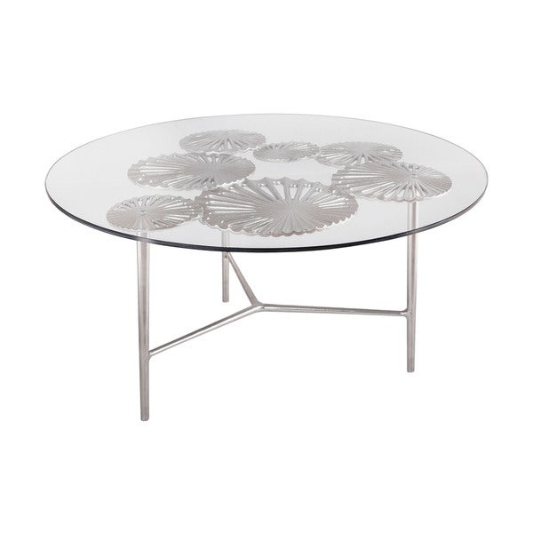 LS Dimond Home Victoria Round Coffee Table