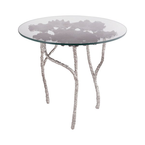 LS Dimond Home Victoria Round Side Table