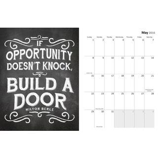 'Chalk It Up' Aug 2015 - Dec 2016 Spiral Engagement Planner