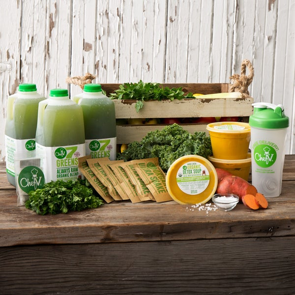 Chef V Organic Juice Cleanse (Local Delivery)