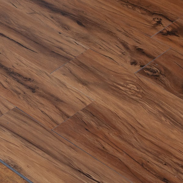 Hand Scraped Toasted Oak 4mm Vinyl Plank Flooring 36x6