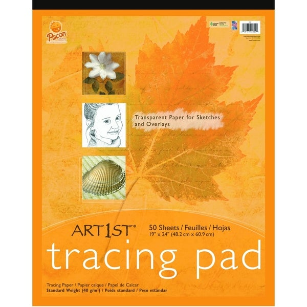 "Art1st Art1st Tracing Pad, 19"" x 24"", 50 Sheets - 1/PD"