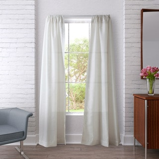 Heritage Landing Sheer Stripe Curtain Panel Pair