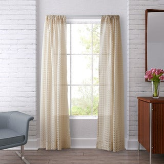 Heritage Landing Sheer Check Window Panels