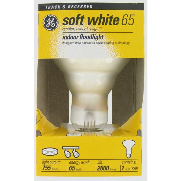 GE Incandescent 65 Watt Reflector Bulb