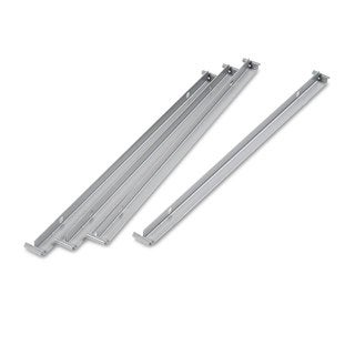 Alera Aluminum Two Row Hangrails for 30 or 36 inch Files (Pack of 4)