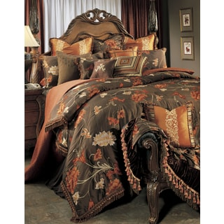 Michael Amini Grand Fleur 13-piece Comforter Set