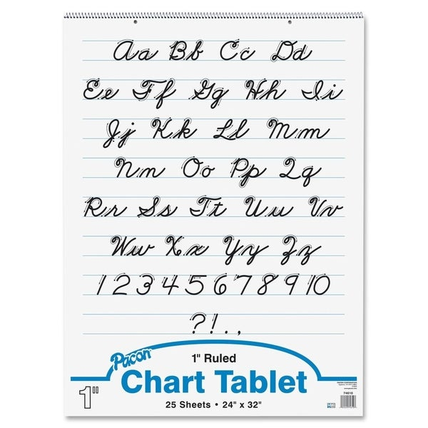 Pacon Chart Tablet - 1/EA