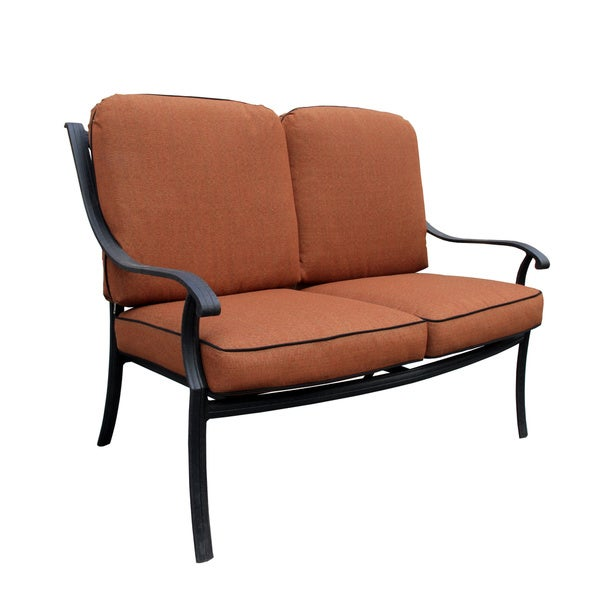 Malibu Collection Deep Seat Loveseat with Cushions
