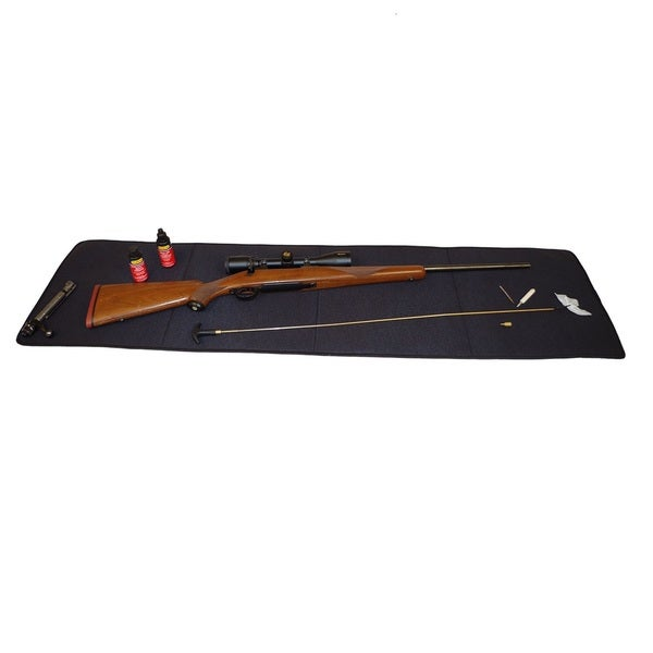 Snug Fit Long Gun Cleaning Mat For Long Guns