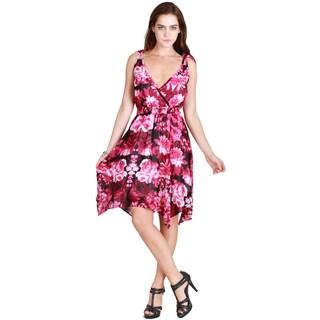 Nikibiki Women's Tie Shoulder Floral Dress