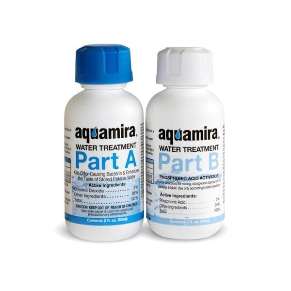 Aquamira Water Treatment Drops 2oz