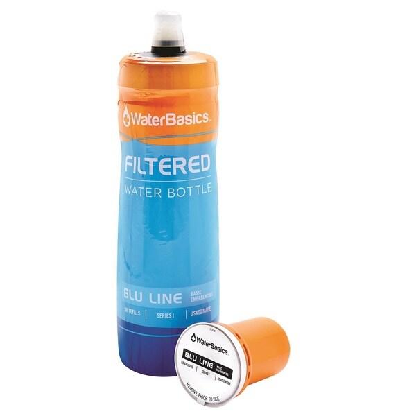 WaterBasics Blu Line Filtered Water Bottle BLU-I-60
