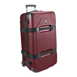 Traveler's Choice Maxporter Merlot 28-inch Hardside Rolling Upright Duffel/Suitcase