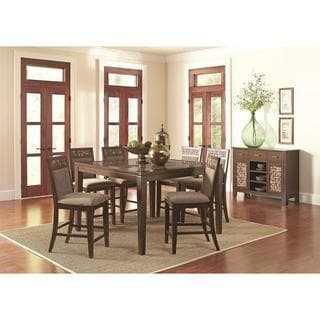 Ailani Brown Counter Height Dining Set