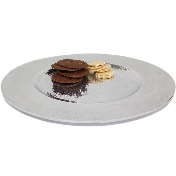 17-inch Round Silver Platter