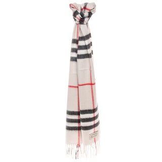 Burberry Heritage Giant Check Cashmere Scarf