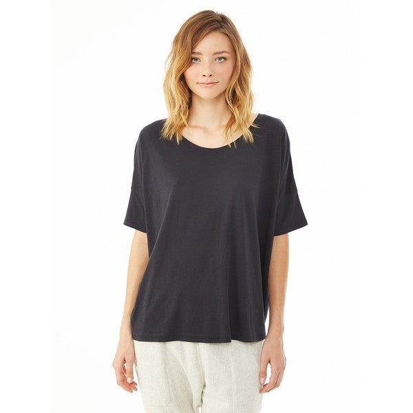 Alternative Women's Black Perfect Boxy Tee
