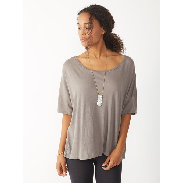 Alternative Women's Grey Perfect Boxy Tee