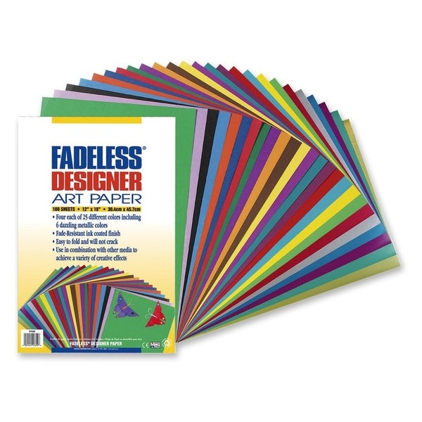 Pacon Fadeless Designer Assortment - 100/PK
