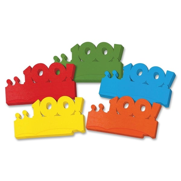 ChenilleKraft Bright 100! Paper Crowns - 25/PK