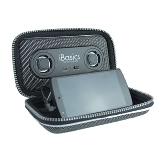 iBasics Black Rechargeable Portable Speaker Carrying Pouch