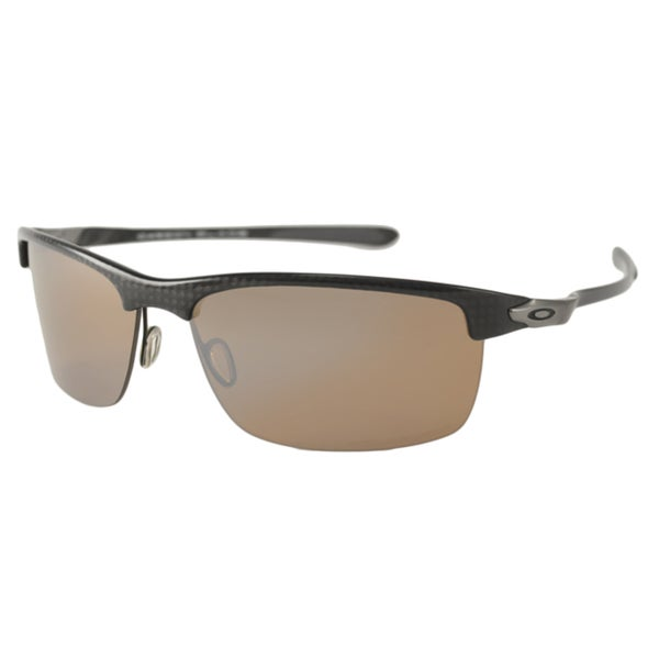 Oakley OO9174 Carbon Blade Men's Polarized/ Wrap Sunglasses