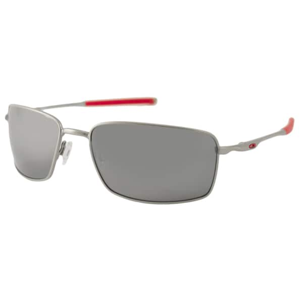 Oakley OO4075 Square Wire Men's Polarized/ Wrap Sunglasses
