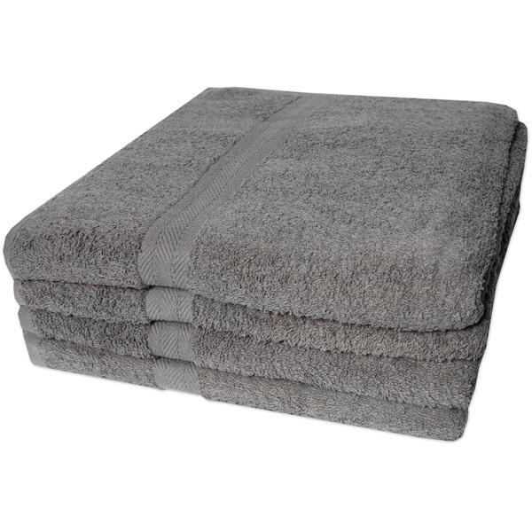 100% Cotton 4-piece Bath Towel Set