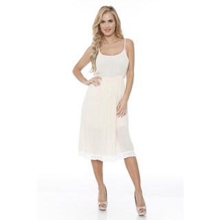 Women's Laced Bottom Tank Dress