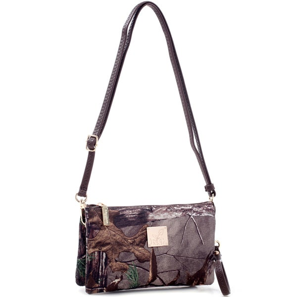 Realtree Girl Multi-compartment Crossbody Bag