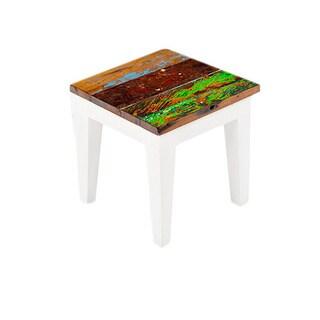 Rock-A-Bye Reclaimed Wood Side Table