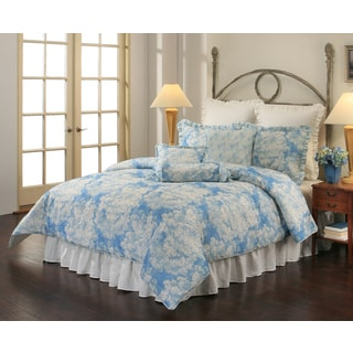 Sherry Kline Vienne Blue 8-piece Comforter Set