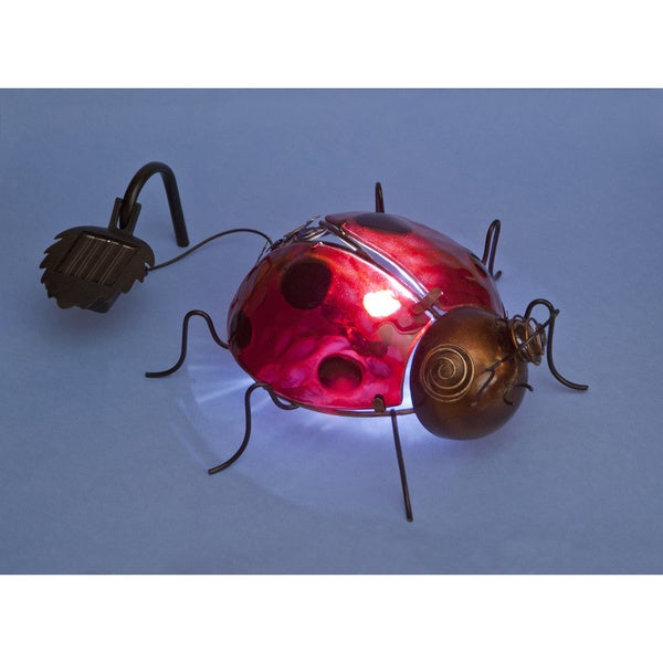 Glass and Iron Solar Ladybird