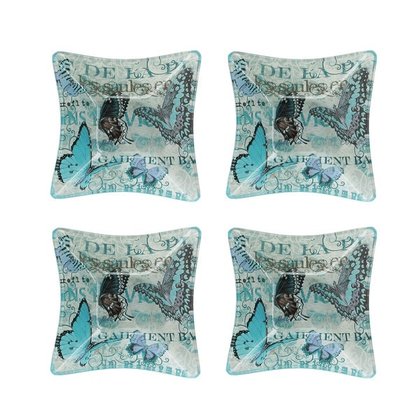 Notions Blue Butterfly Bowl (Set of 4)