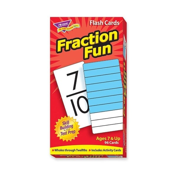 Trend Fraction Fun Flash Card - 1/BX