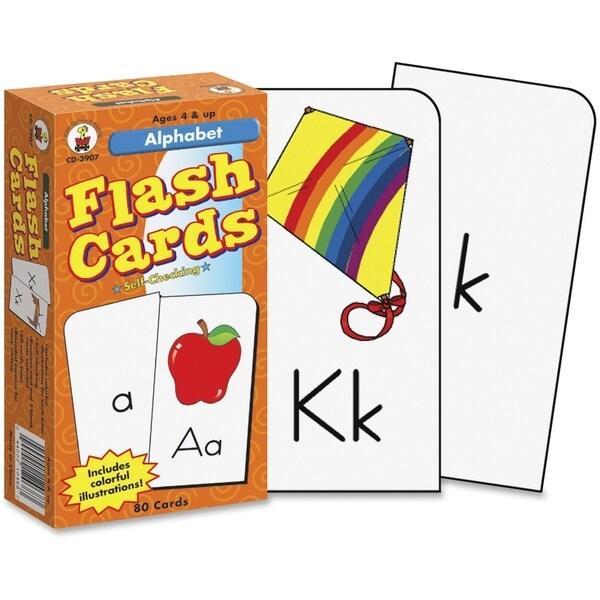 Carson-Dellosa Alphabet Flash Cards - 1/EA