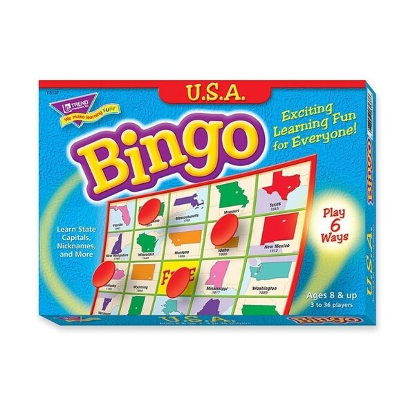 Trend U. S. A. Bingo Game - 1/EA